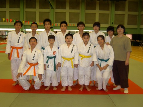 Prizes won from Yuen Long Judo Competition