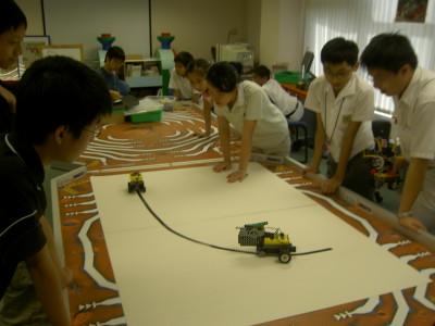 Snap Shots of 2005 Robotic Class