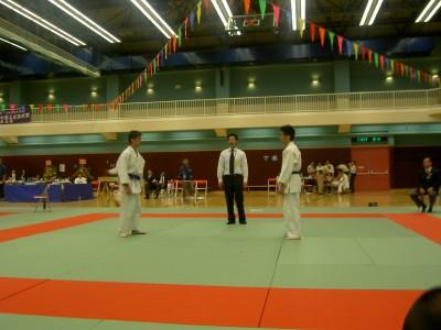 2005年中學柔道錦標賽包辦冠亞